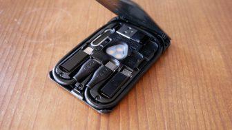 欲しいケーブルと機能がすべて詰め込まれているカードサイズのガジェット『Kable CARD』レビュー