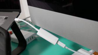 iMacをターゲットディスプレイモードで運用するのは難しい
