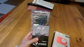 SJCAM SJ9 Strikeがやってきた:開封と試し撮り動画あり